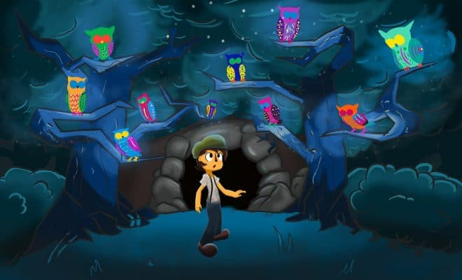 http://maxpixel.freegreatpicture.com/Night-Owl-Cave-Boy-Cartoon-Characters-1824769