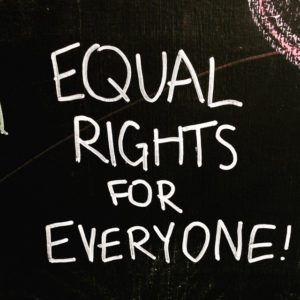 Equal Rights for Everyone Sign Coffee Shop