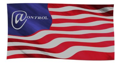 American flag, control, no freedom