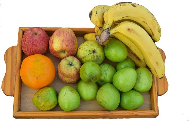 Fruits-Wooden-Tray-Healthy-Diet