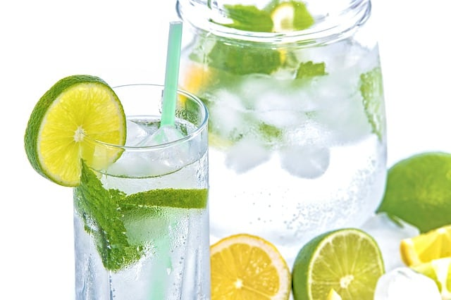 https://pixabay.com/en/mineral-water-lime-ice-mint-glass-1532300/